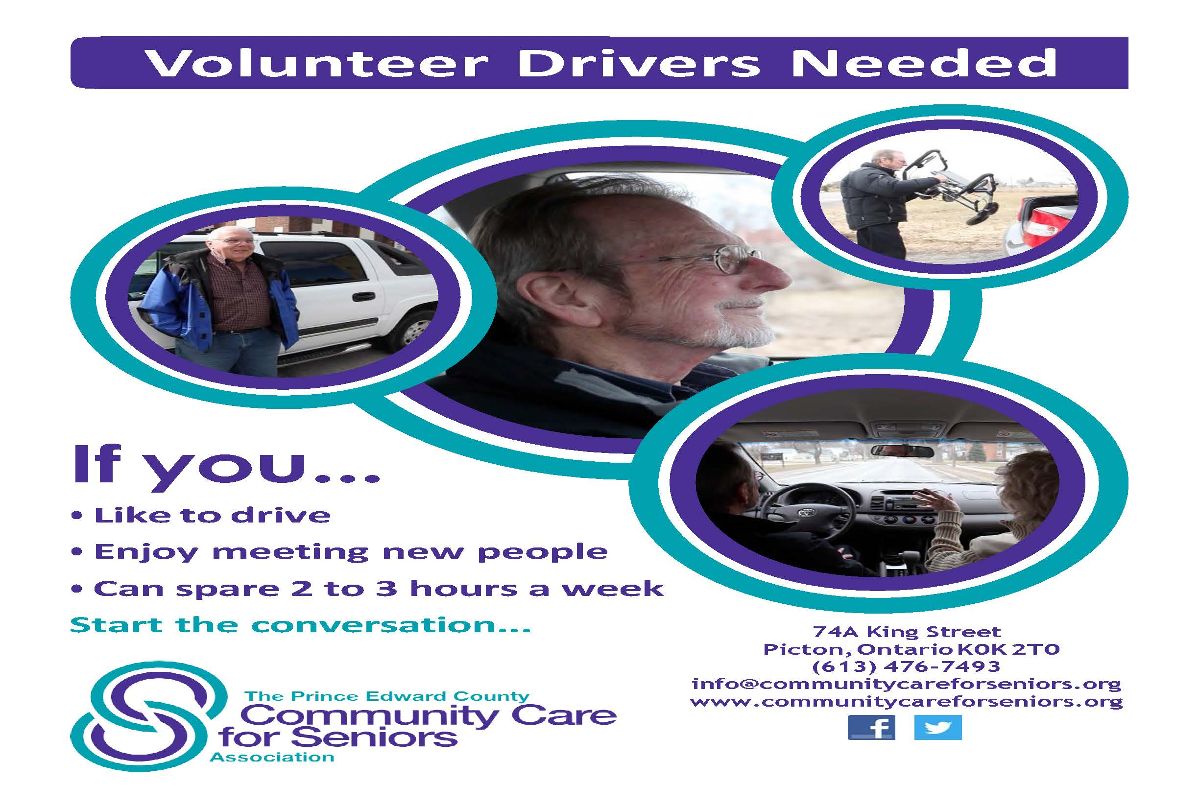 volunteer drivers needed